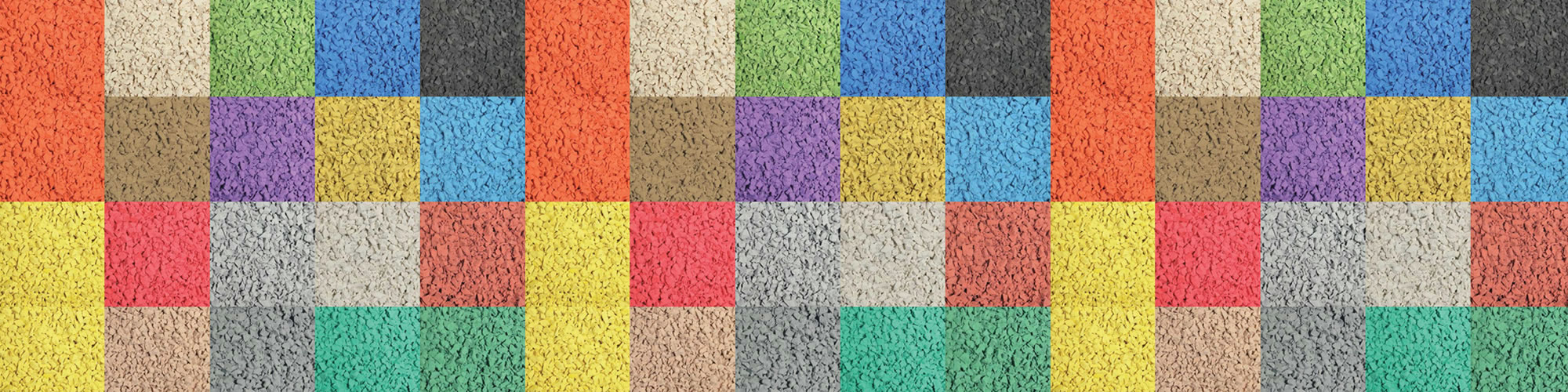 Rubbery Playground Safety Surfacing Colours